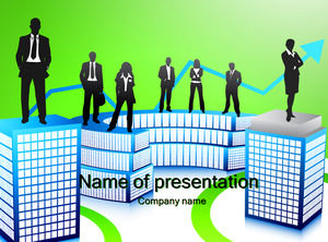 Business colleagues - business ppt templates