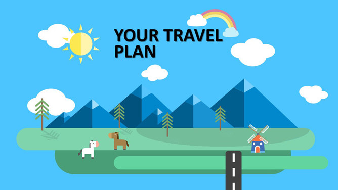 Free Travel Introduction Powerpoint Templates