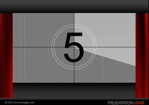 Field countdown countdown effect ppt effect template