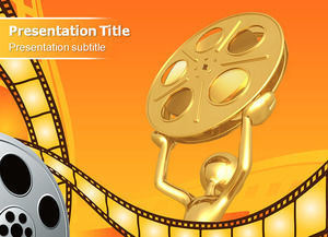Film and television media company ppt template