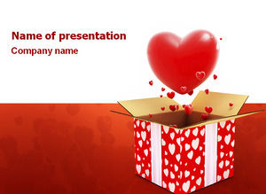Full box love - love public ppt template