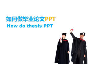 How to design a better graduation thesis ppt template