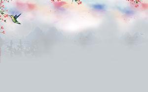 Cina Gaya Background Gambar Download
