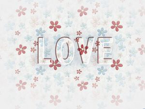 Love words pretty petals beautiful background pictures