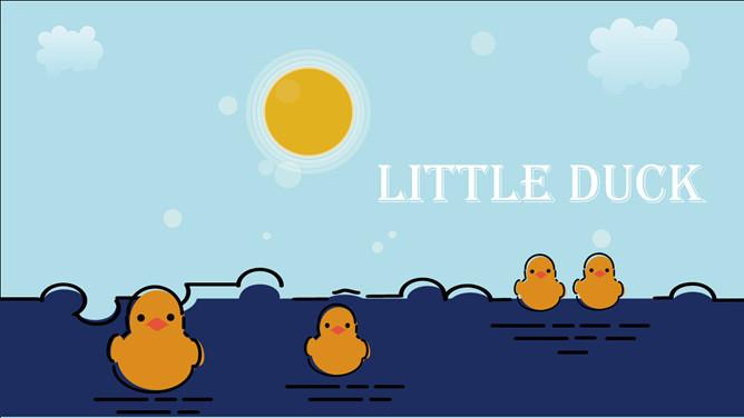Mbe style cute little yellow duck ppt templatesg gaya mbe kecil yang lucu bebek kuning template ppt toneelgroepblik Image collections