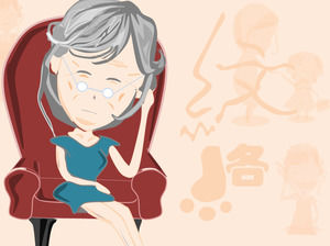Mother's forehead wrinkled lines - life bit by bit to reflect the mother's great love ppt cartoon movie