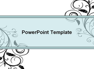 Nice lace line color chart ppt template